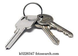 Three Keys w/ Ring