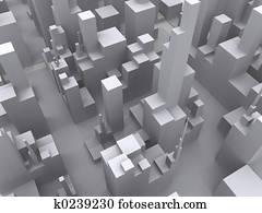 Big City abstract