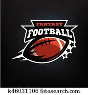 amerikanisch fussball, fantasy.
