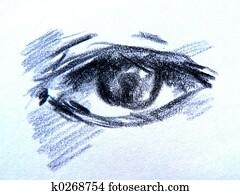 draw eyes