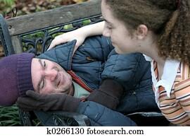 Help For Homeless Man