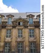 Musee Carnavalet in Paris, France