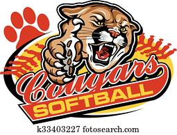 cougars softball
