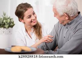 Helping elderly people