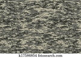 Digital military camo texture