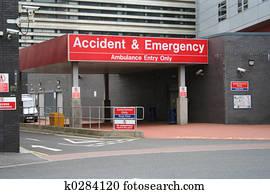 unfall notfall, eingang