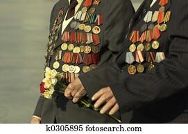 kriegsbilder, veteranen