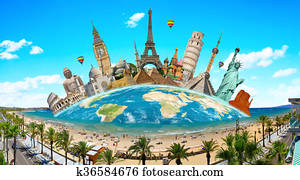 Monuments of the world