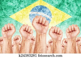 Brasil Labour movement, workers union strike