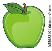 green an apple