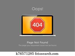 fehler, 404, seite, not, found., website, 404, web, failure., oops, unruhe, internet, warnung, design