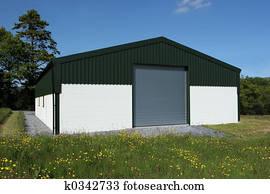 Wooden Barn Door Stock Photography K0342835 Fotosearch