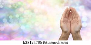Rainbow Healing Reiki Share Banner