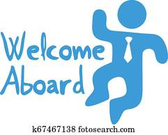 Welcome aboard symbol