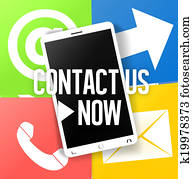 Contact Us Fresh Color Design
