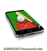 Baseball on Smartphone, Sports App