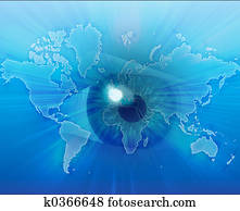 Eyeing the world