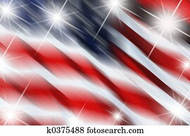 flag with stars