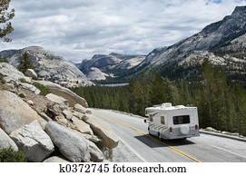 RV in Yosemite