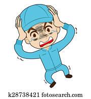 mechanic who is astonished