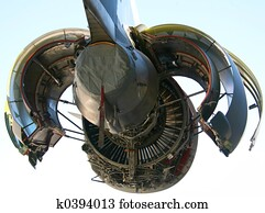 C-17 Military Aircraft Engine