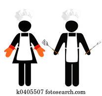 Cooks Symbol-People