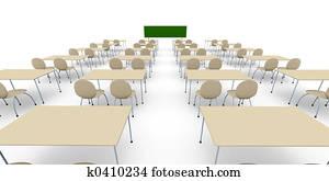 Classroom - Wide Ang