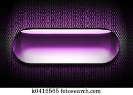 Glass Web Button