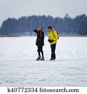 datazione pattinaggio su ghiaccio