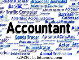 Accountant Job Means Balancing The Books And Accounting