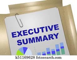 Executive Summary concept