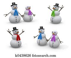 Holidays - Snowmen