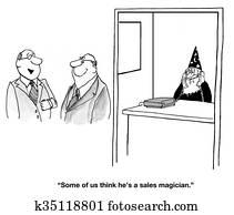 Magical Salesman