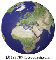 Plasticized globe