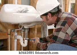 Construction Plumbing Work