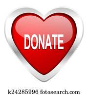 donate valentine icon