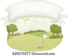 Golf Course Banner
