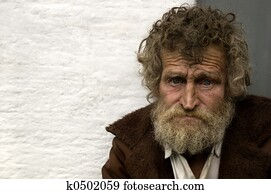 hobo in close up