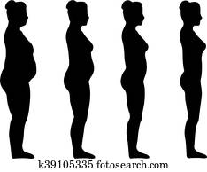 weight loss woman