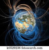 Energy Fields Earth East