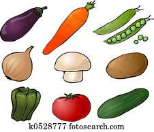 Vegetables illustration