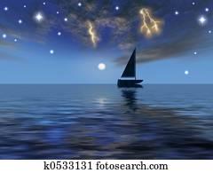 Astral boat