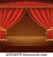 Theatre Courtains 01