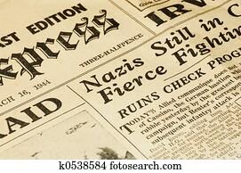 World War II news