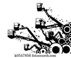 crane abstract