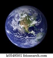Earth - America
