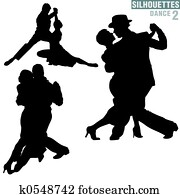 Silhouettes Dance 02