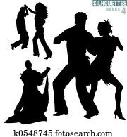 Silhouettes Dance 04