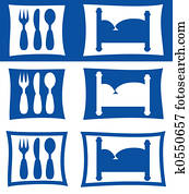 hotel restaurant symbols