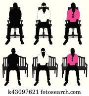 Stuhlfarbe Abbildung Clip Art K35117498 Fotosearch